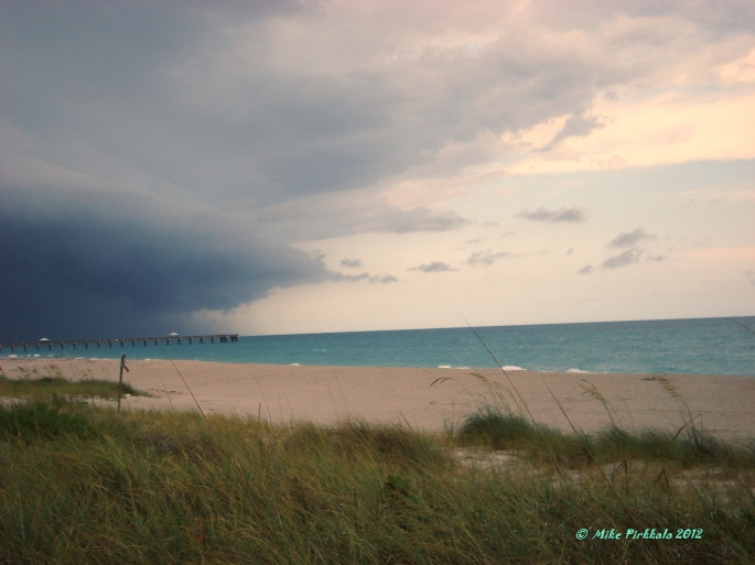 JUNO BEACH - JUPITER STORM 29 MAY 2012